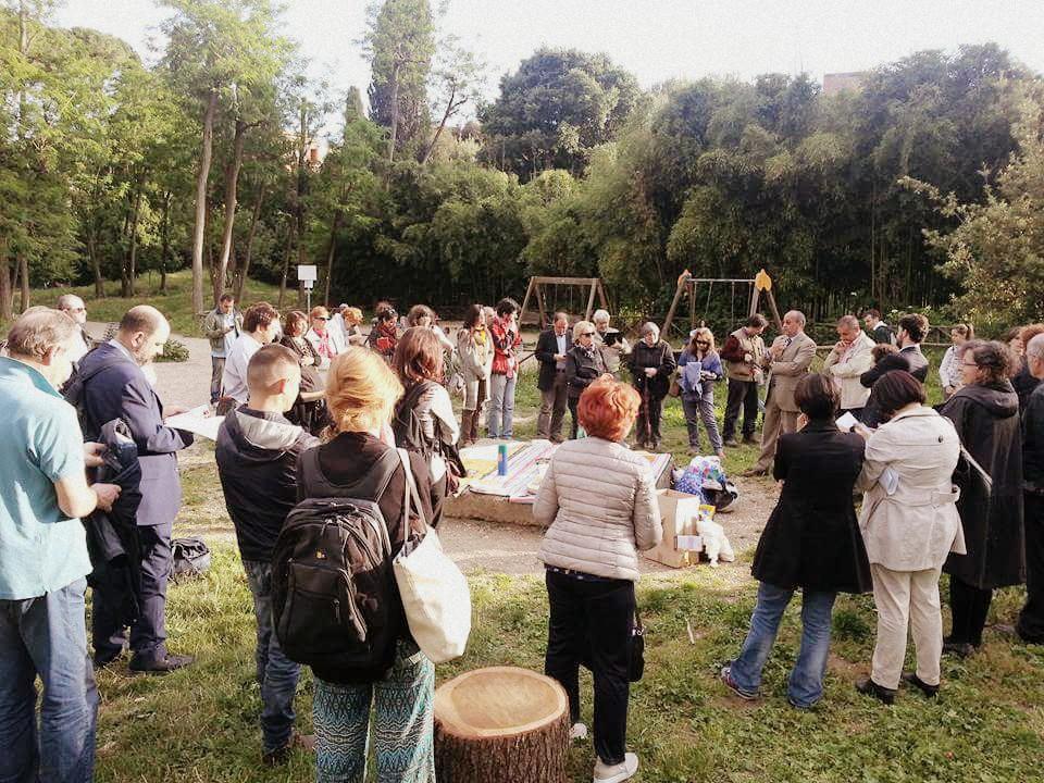 Presentazione del programma e della lista Sinistra per Roma Municipio II per Giovanna Seddaiu Presidente